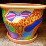 Curso de Pintura em Vasos de Cerâmica